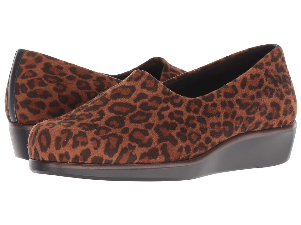 SAS Bliss (Tan Leopard) Women's Shoes