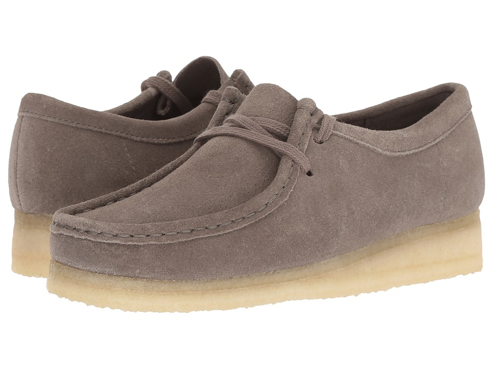 Clarks Wallabee (Grey Suede)