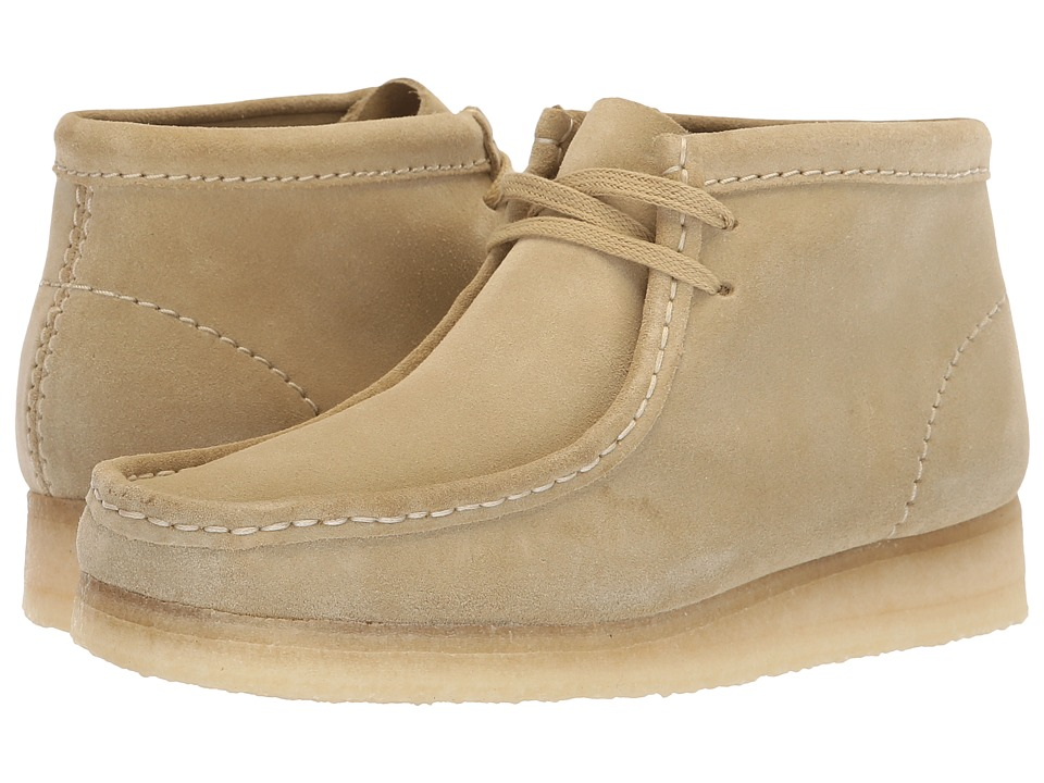 Clarks Wallabee Boot (Maple Suede)