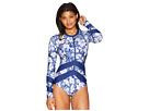 Next by Athena Zen Garden Long Sleeve Malibu One-Piece