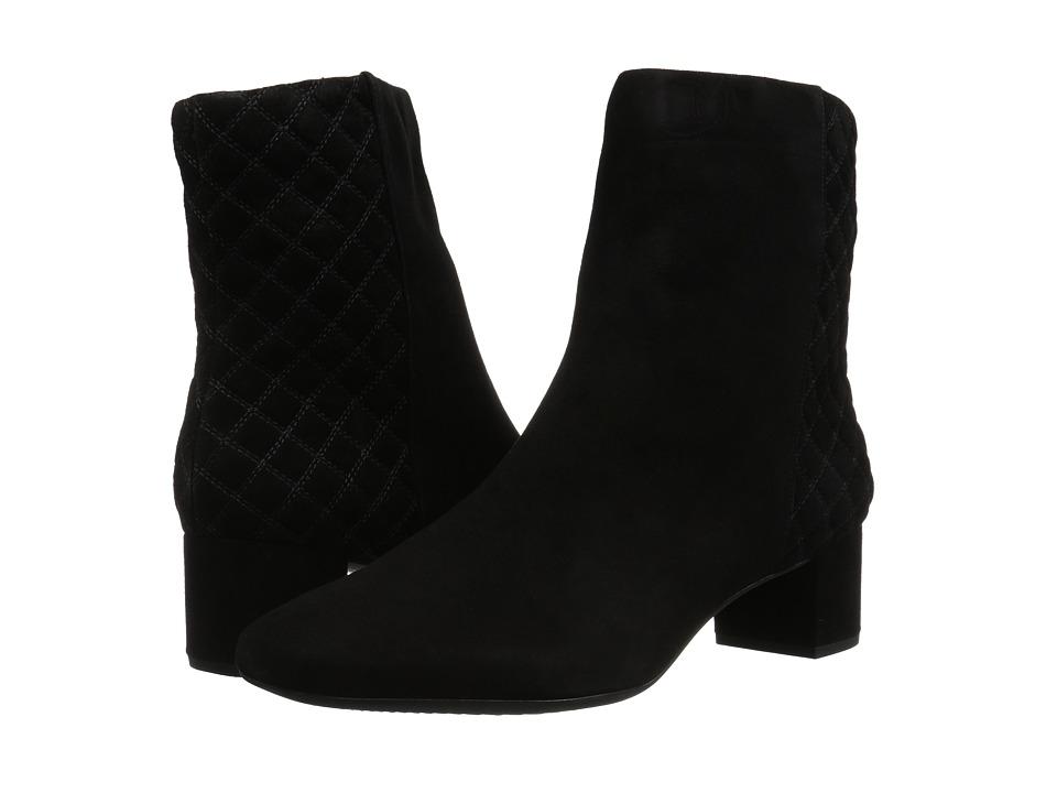 Clarks Tealia Luck (Black Suede) Women's  Boots