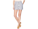 1.STATE 1.STATE Paperbag Waist Linen Stripe Shorts