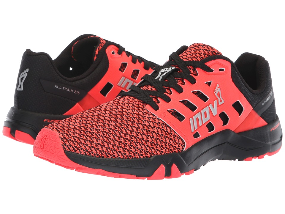 inov-8 All Train 215 Knit (Black/Pink) Women's Shoes