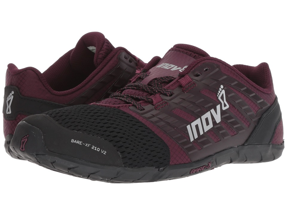 inov-8 Bare-XF 210 V2 (Black/Purple) Women's Running Shoes