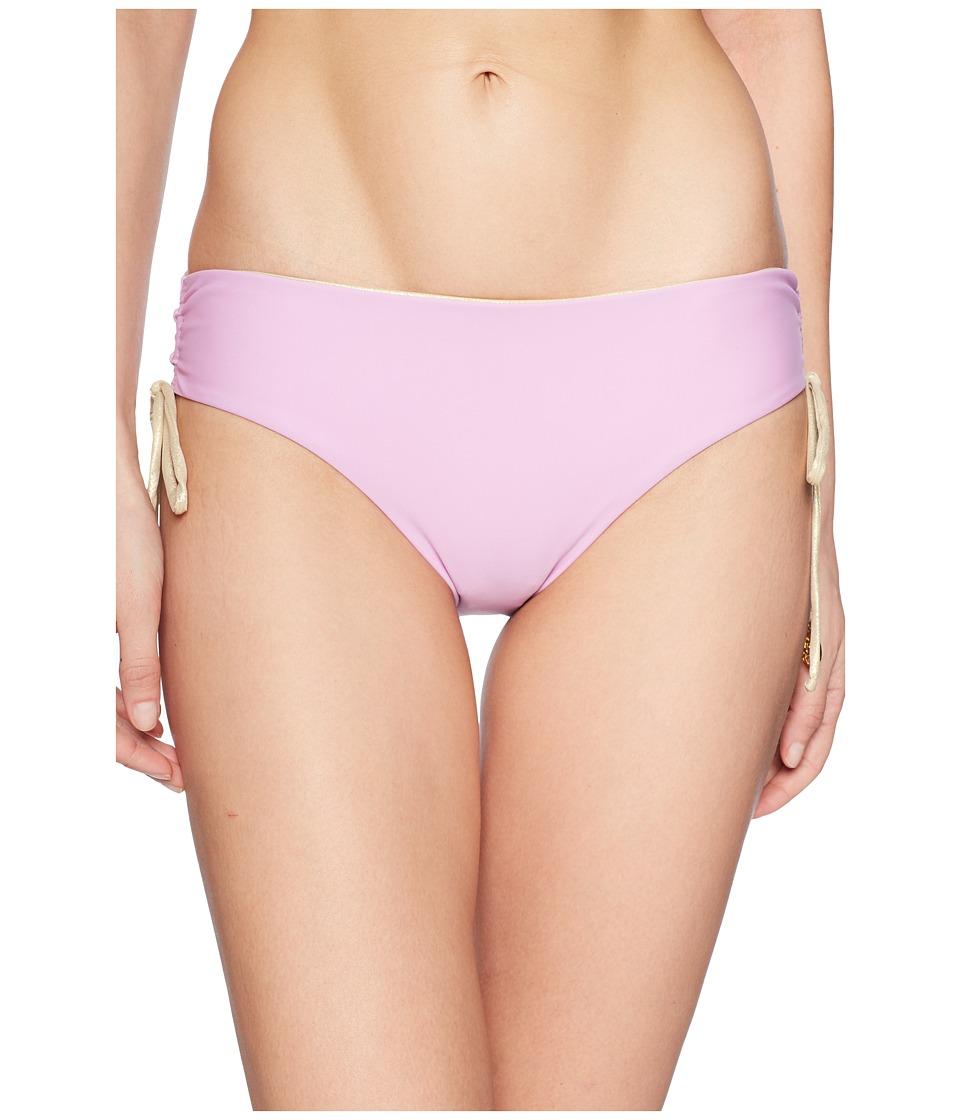 Luli Fama - Buena Vista Reversible Drawstring Side Full Bottom (Lavanda) Womens Swimwear
