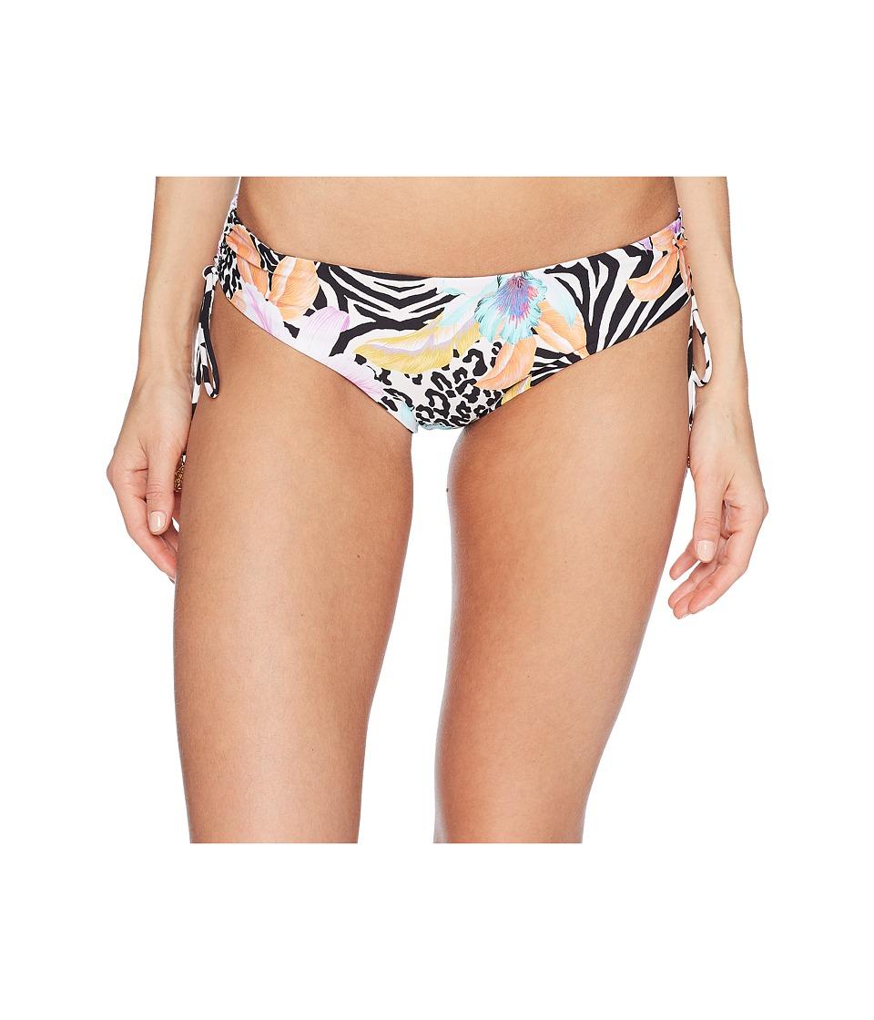 Luli Fama - Buena Vista Reversible Drawstring Side Moderate Bottom (Multi) Womens Swimwear