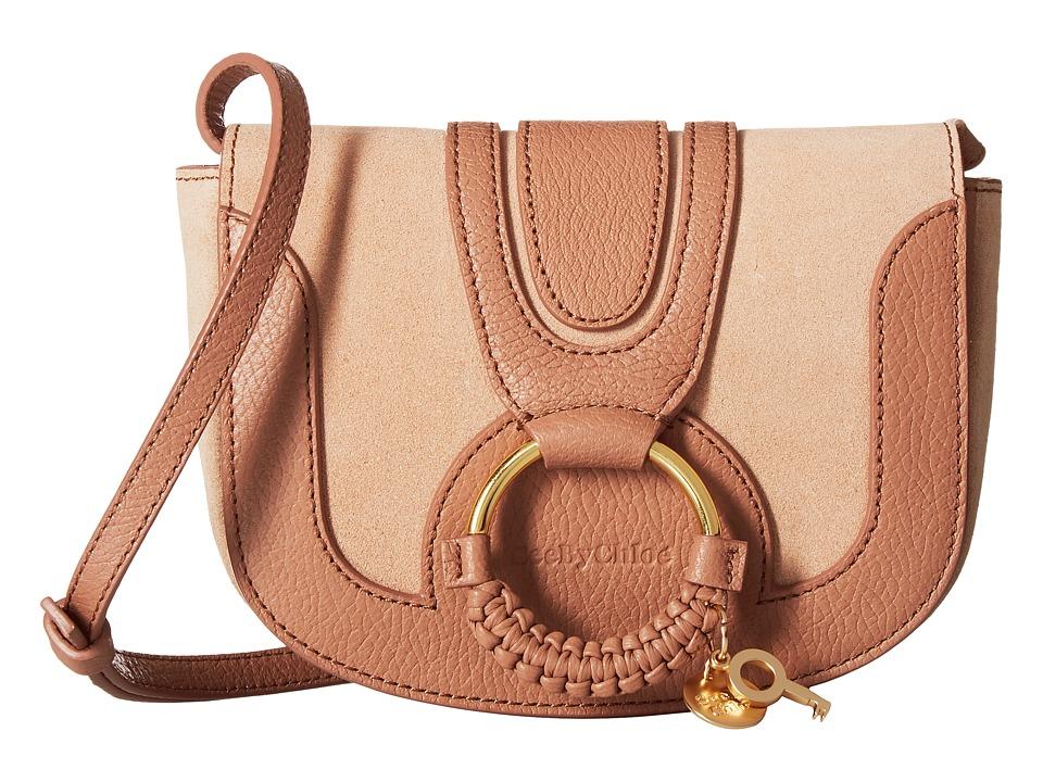 See by Chloe Mini Hana Bag (Nougat) Handbags
