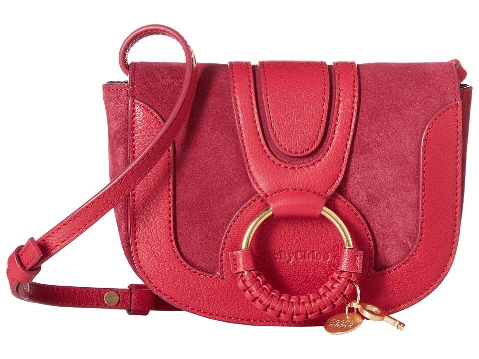 See by Chloe Mini Hana Bag (Berry Pink) Handbags