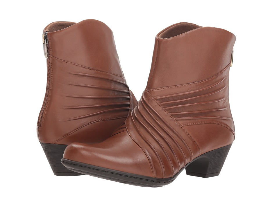 Rockport Brynn Rouched Boot (Almond)