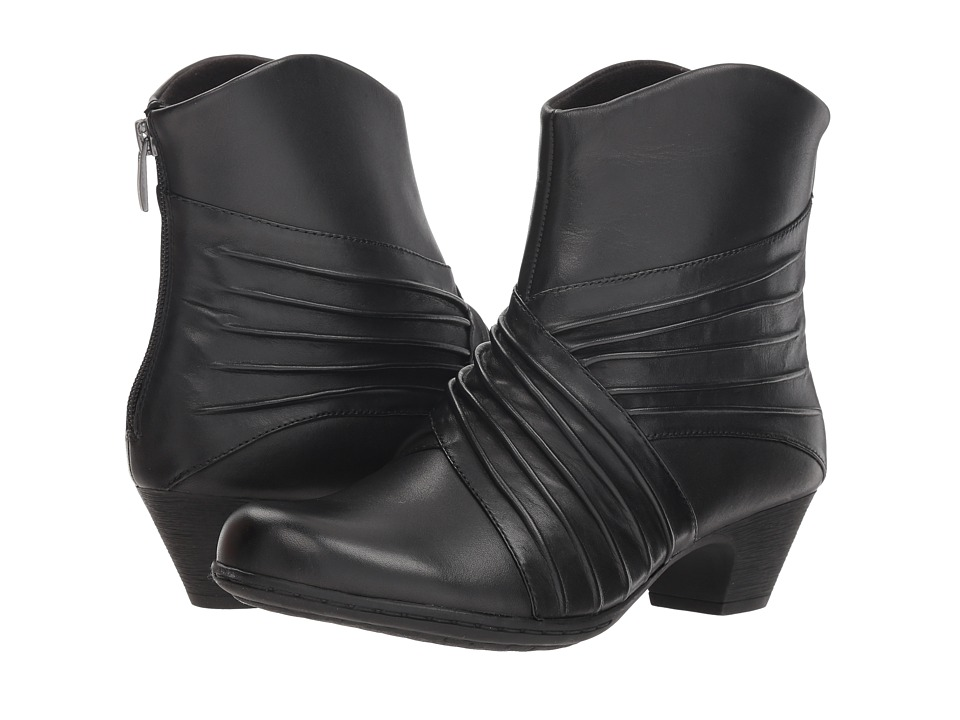 Rockport Brynn Rouched Boot (Black)
