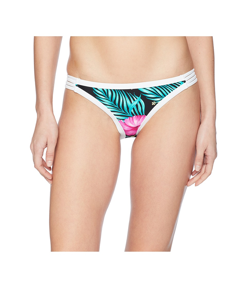 Body Glove - Molokai Flirty Surf Rider Bottom (Black) Womens Swimwear