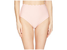 Kate Spade New York Marina Piccola Textured Scallop High-Waist Bottom