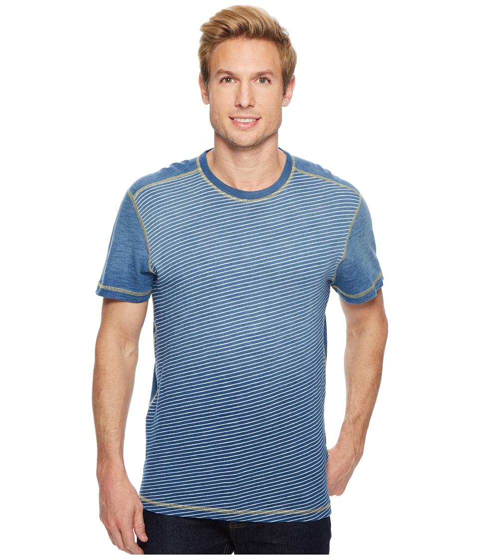 Agave Denim - Bundoran Short Sleeve Crew Neck T-Shirt (5 Year Fade) Mens Short Sleeve Pullover