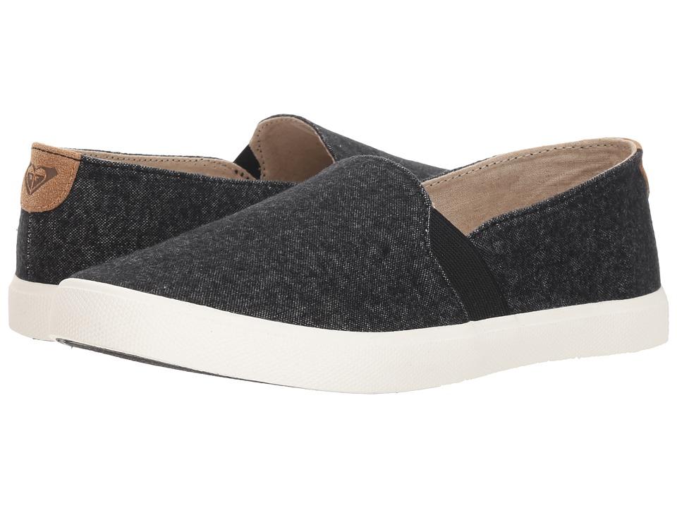 Roxy Atlanta II (Black) Slip-On Shoes