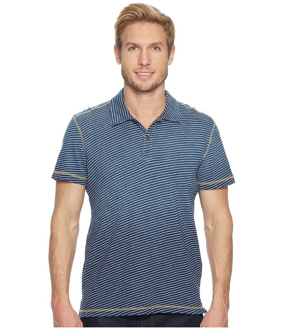 Agave Denim - Kirra Short Sleeve Polo (Deep Indigo) Men's...