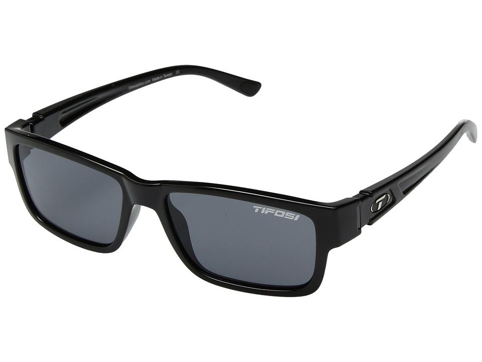 Tifosi Optics Hagen 2.0 (Gloss Black) Athletic Performance Sport Sunglasses