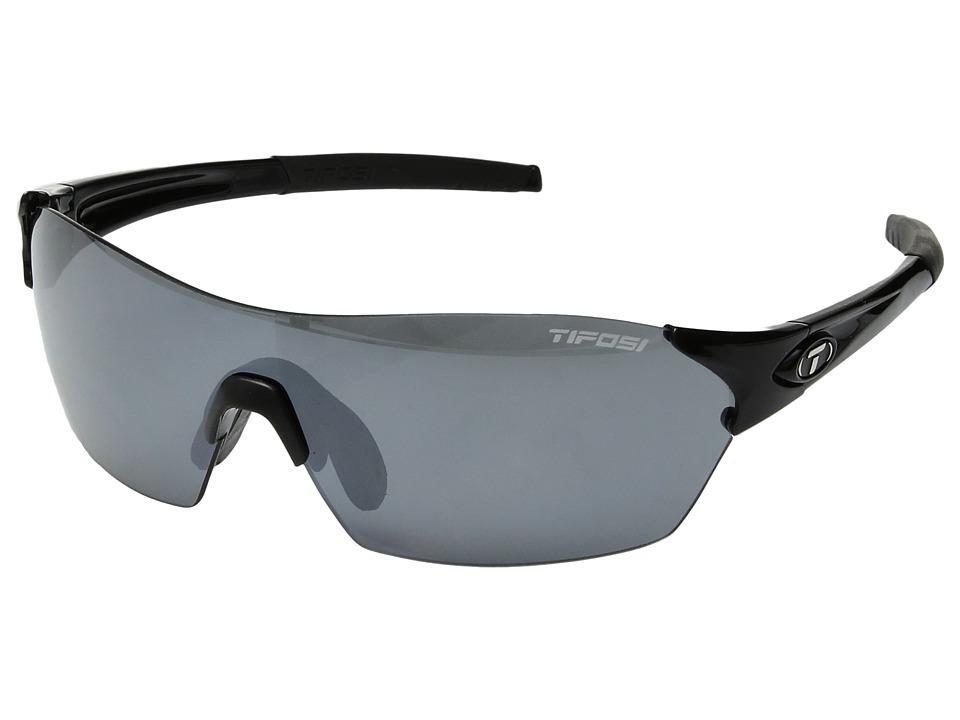 Tifosi Optics Brixen (Gloss Black) Athletic Performance Sport Sunglasses