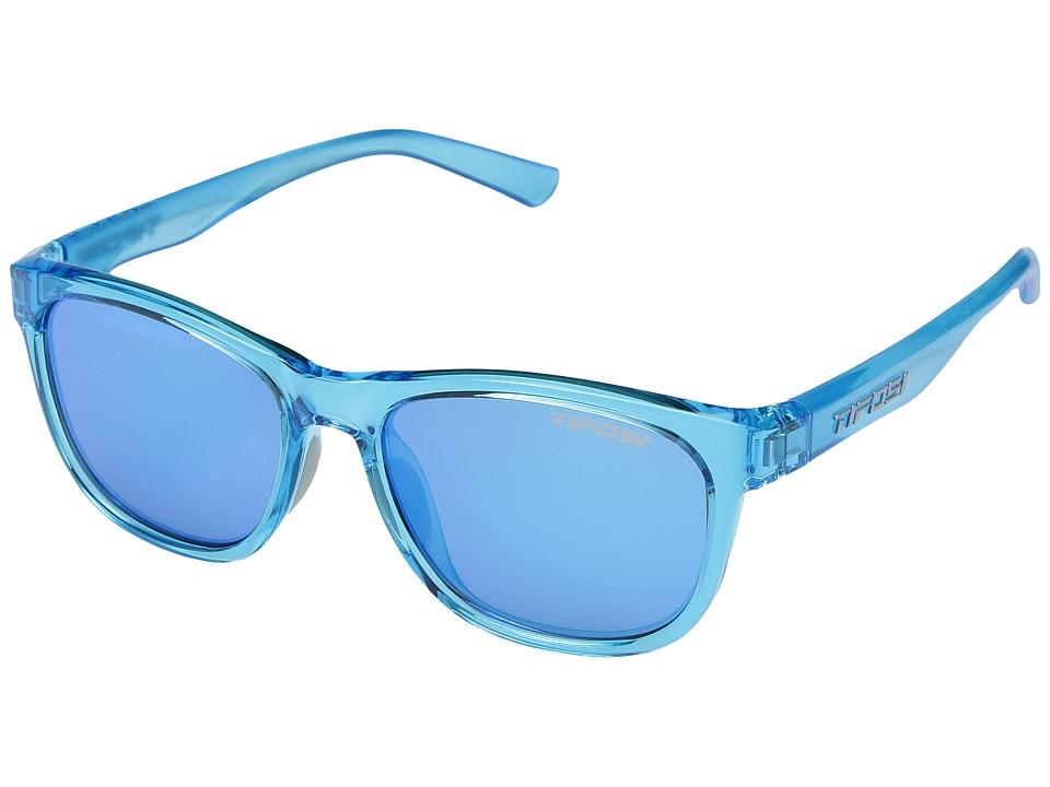 Tifosi Optics - Swank (Crystal Sky Blue) Athletic Performance Sport Sunglasses