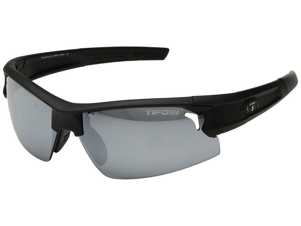 Tifosi Optics Synapse (Matte Black) Athletic Performance Sport Sunglasses