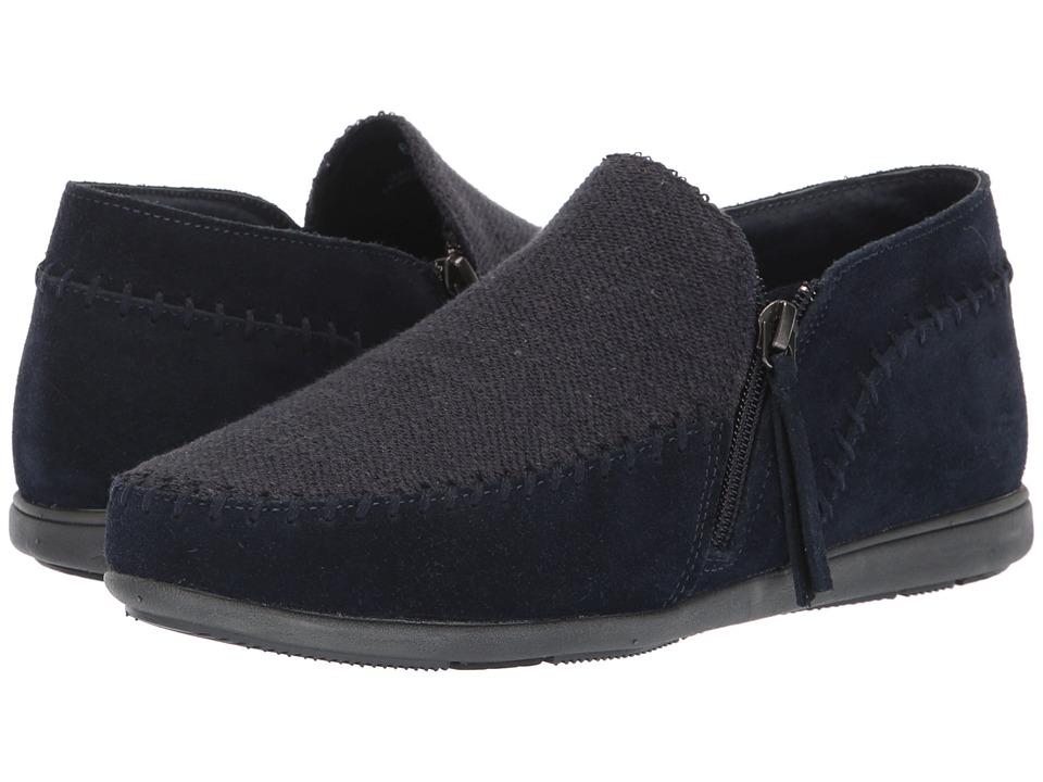 Minnetonka Sidney (Navy) Slippers