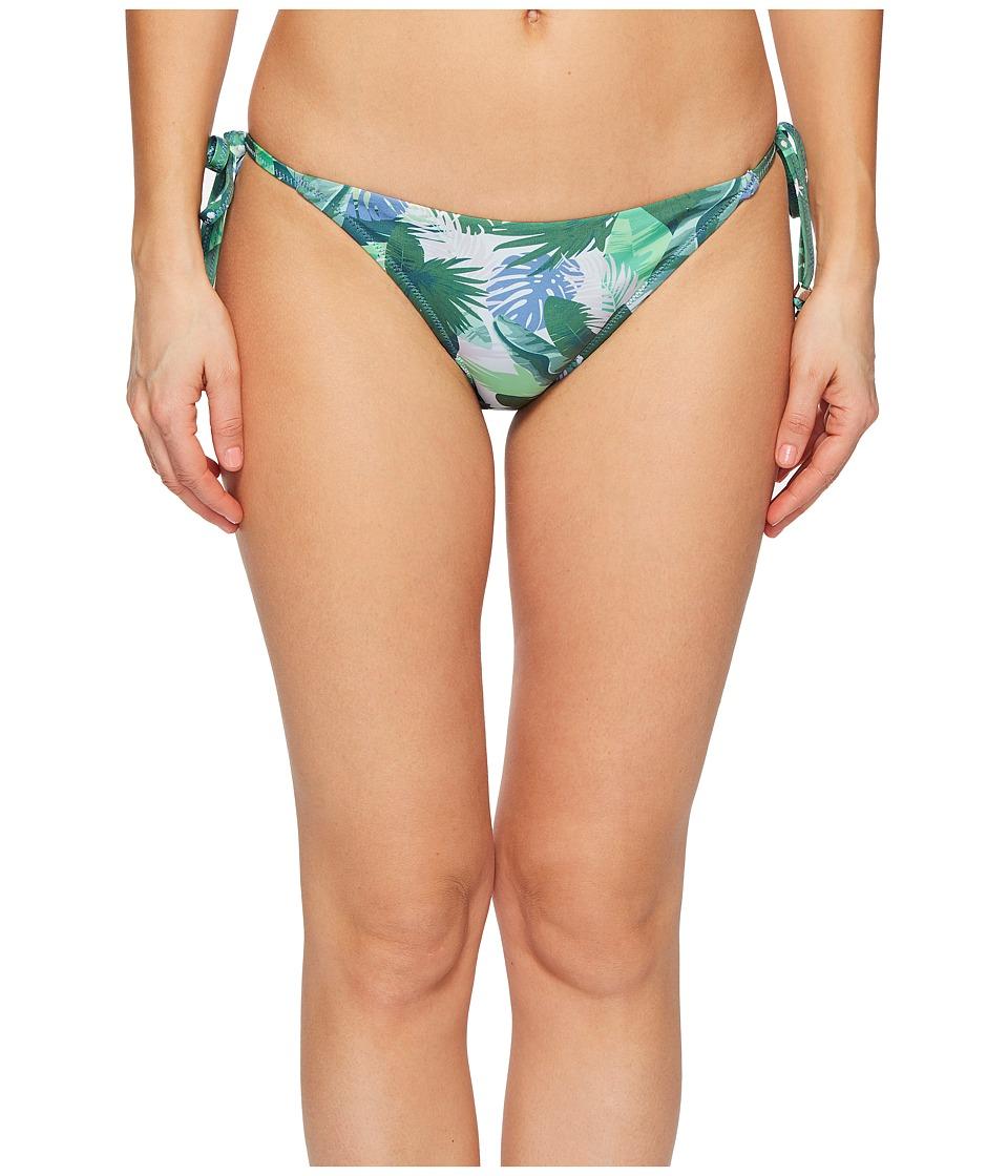 Letarte - String Bikini Bottom (Green Multi) Womens Swimwear