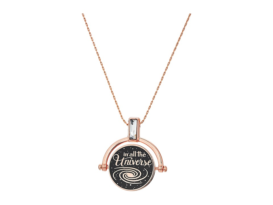 Alex and Ani - Wrinkle In Time - Most Beautiful Dream Spinner Expandable Necklace (Shiny Rose Gold) Necklace