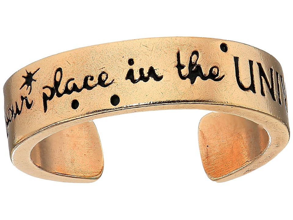 Alex and Ani - Wrinkle In Time - Find Your Place in the Universe Adjustable Ring (14KT Rose Gold Plated) Ring