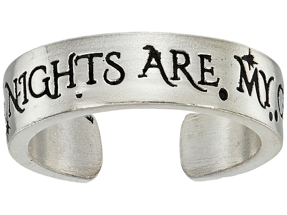 Alex and Ani - Wrinkle In Time - Wild Nights Are My Glory Adjustable Ring (Sterling Silver) Ring