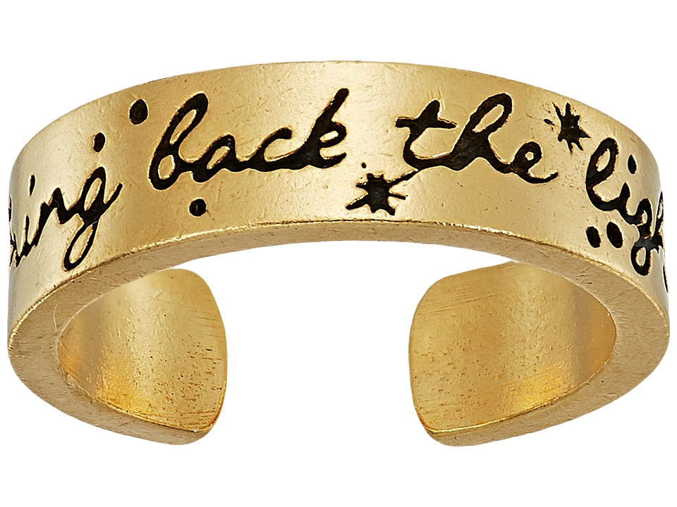 Alex and Ani - Wrinkle In Time - Bring Back the Light Adjustable Ring (14KT Gold Plated) Ring