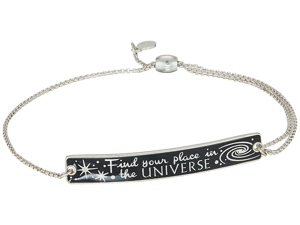 Alex and Ani - Wrinkle In Time - Find Your Place in the Universe Pull Chain Bracelet (Sterling Silver) Bracelet