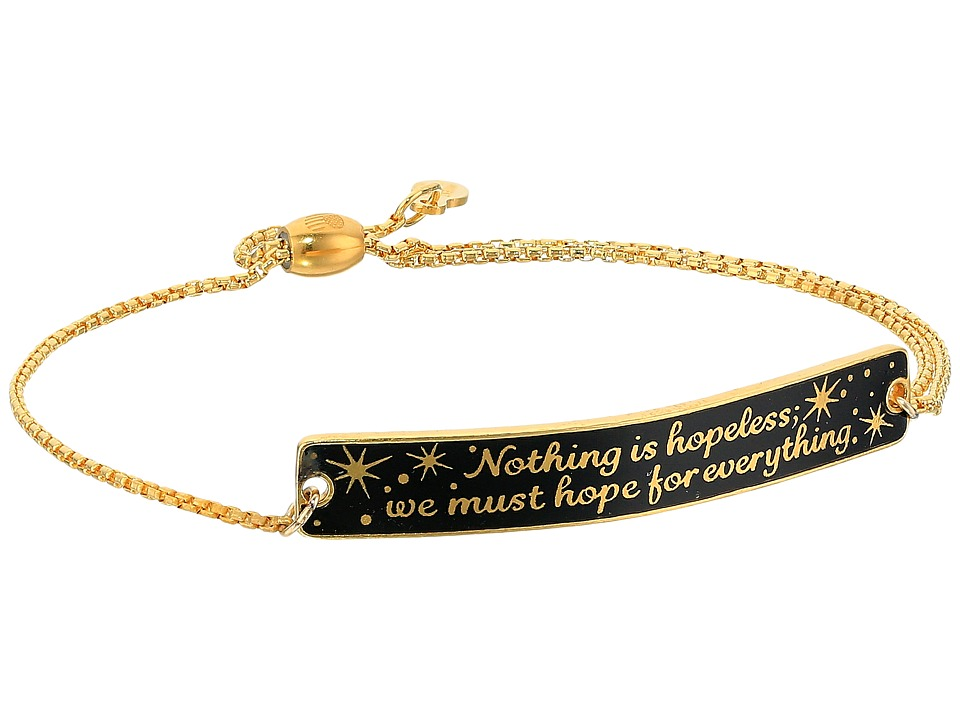 Alex and Ani - Wrinkle In Time - Nothing is Hopeless Pull Chain Bracelet (14KT Gold Plated) Bracelet