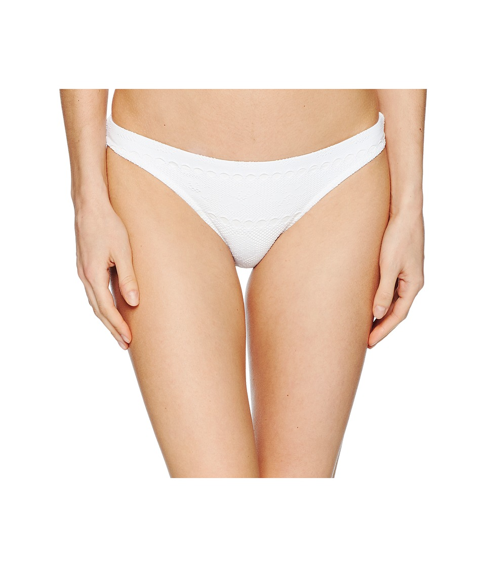 Letarte - Full Coverage Bottom (White) Womens Swimwear