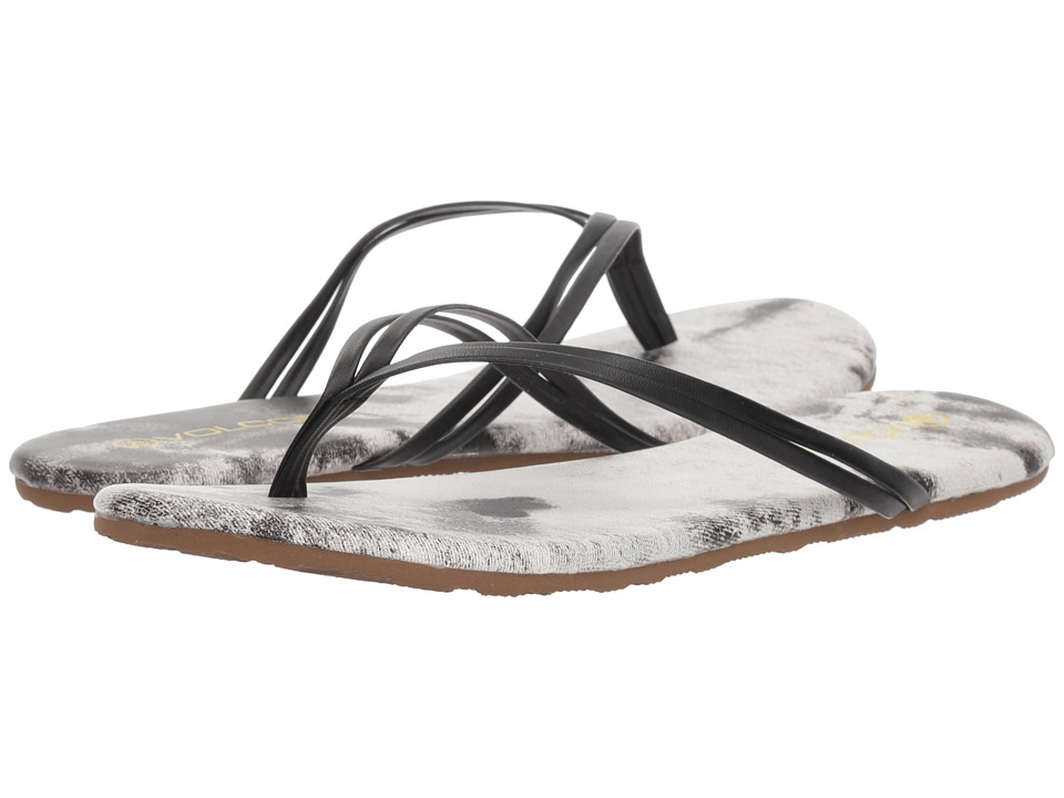 Volcom Wrapped Up (White/Black) Sandals