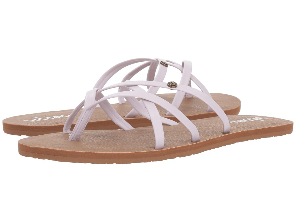 Volcom New School 2 (Light Purple) Sandals
