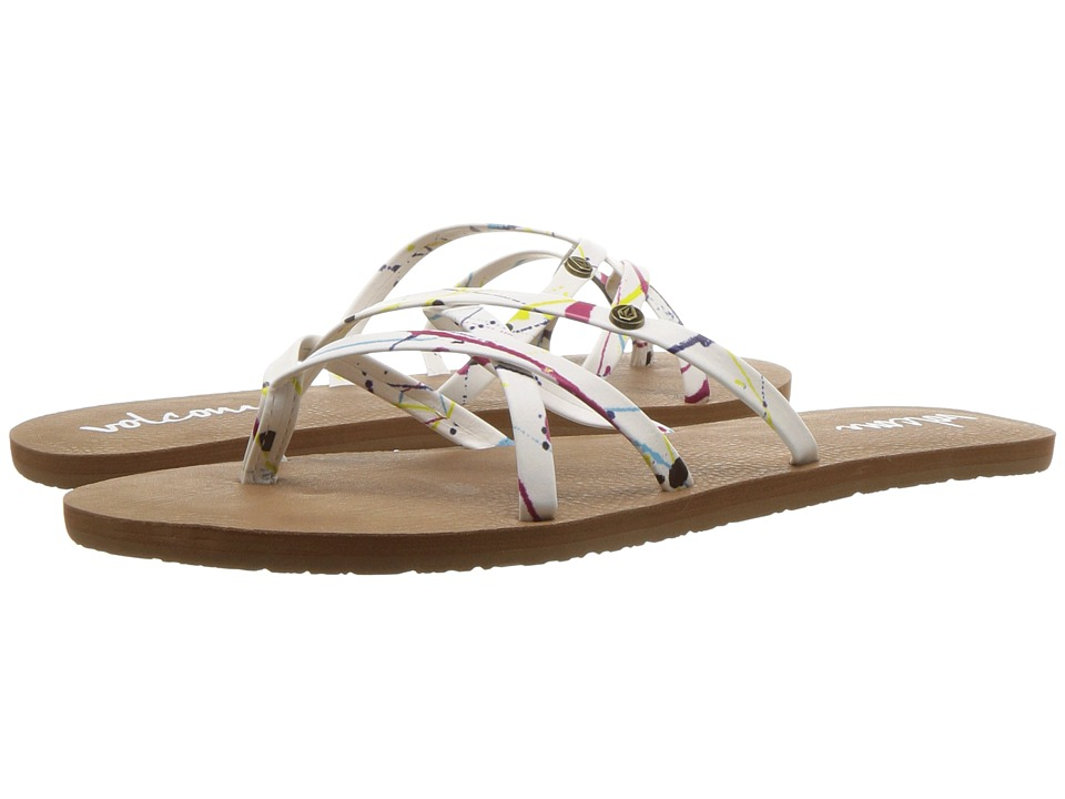 Volcom New School 2 (Paint White) Sandals