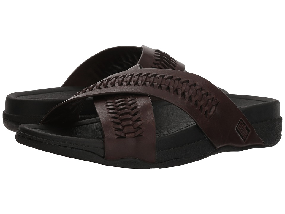 FitFlop - Surfer Slide (Chocolate Brown) Mens Sandals