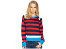 EQUIPMENT Axel Cropped Sweater Stripe