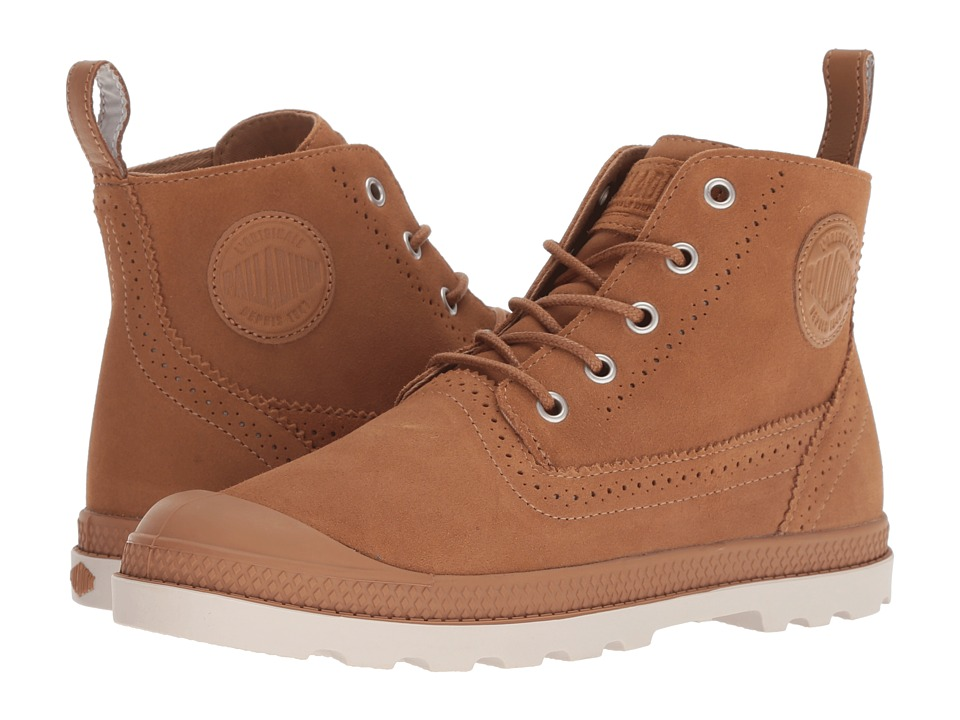 Palladium Pampa LDN LP Mid Suede (Brown Sugar/Cuero)