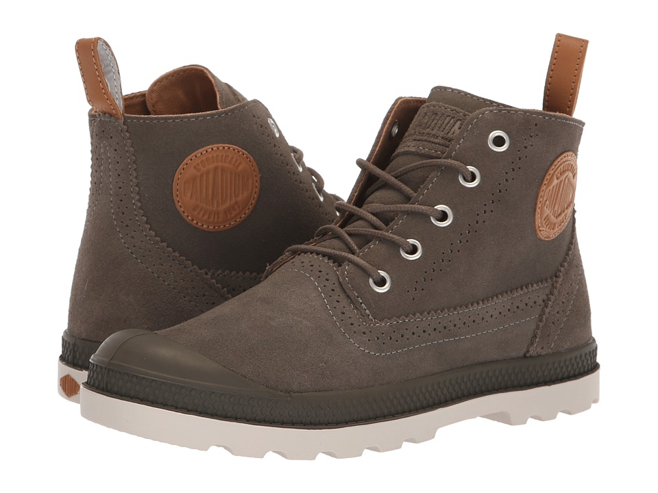Palladium Pampa LDN LP Mid Suede (Major Brown/Cuero)