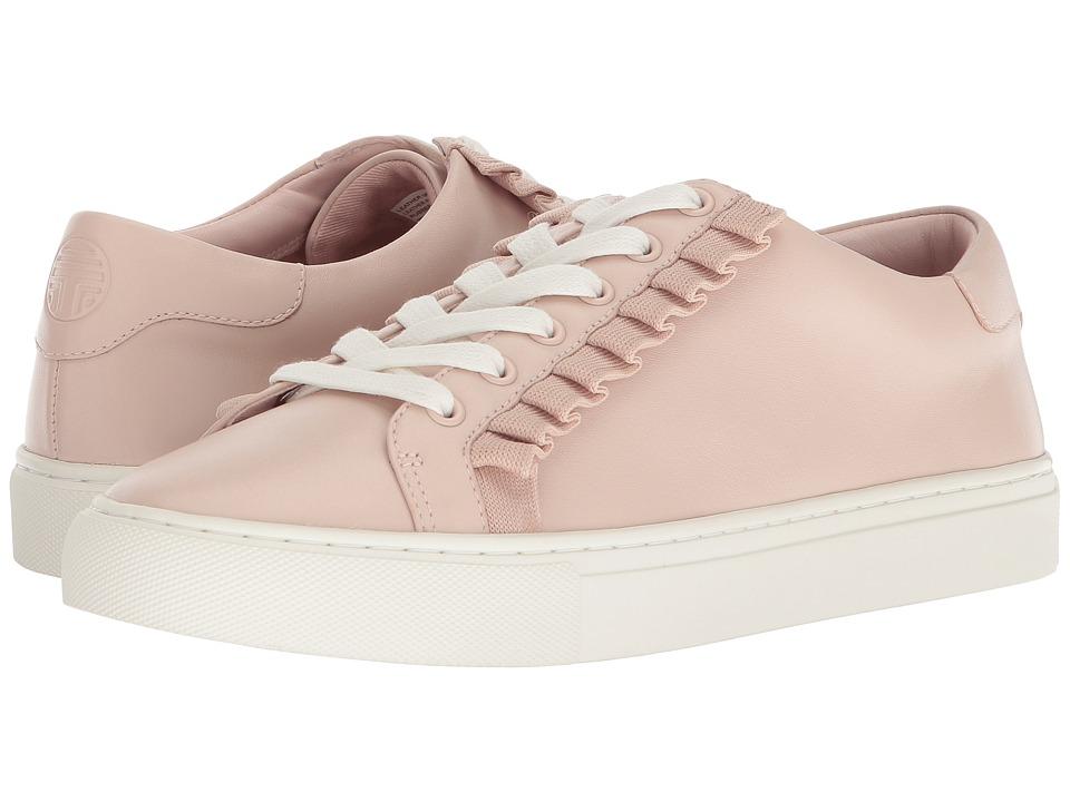 Tory Sport Ruffle Sneaker (Shell Pink/Shell Pink) Women's Shoes