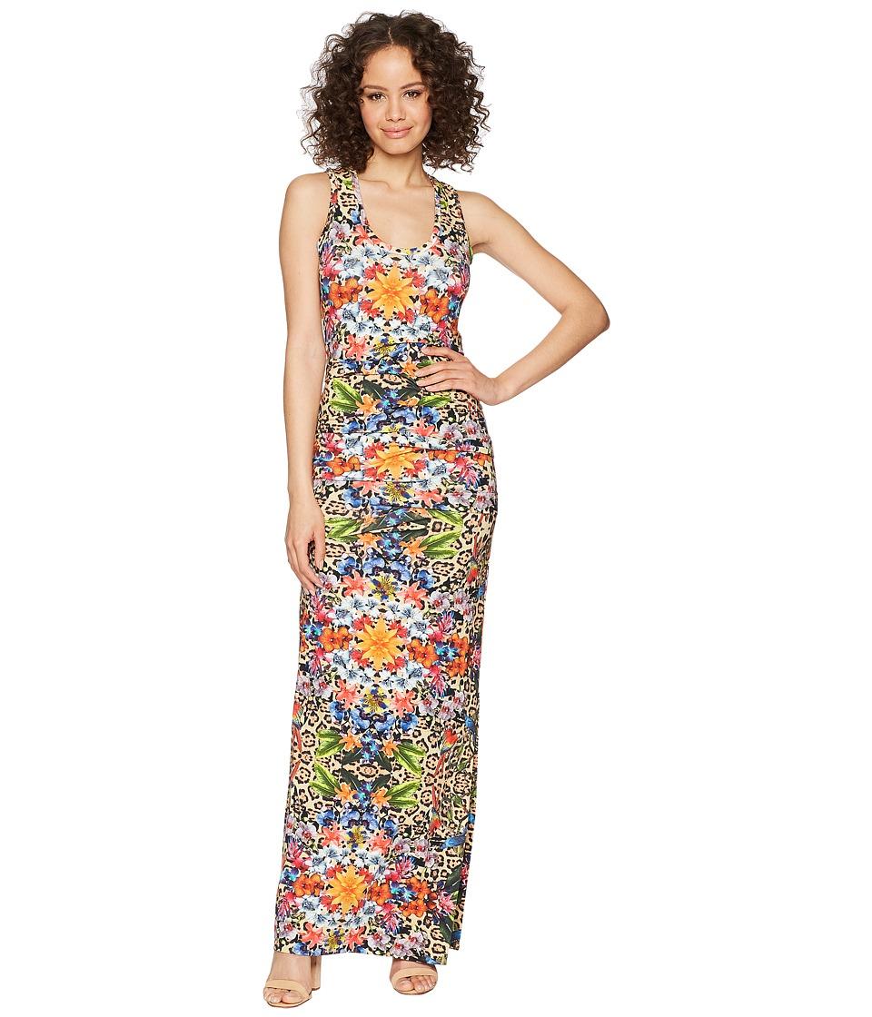 Nicole Miller - Vanessa Maxi Dress (Multicolored) Womens Dress