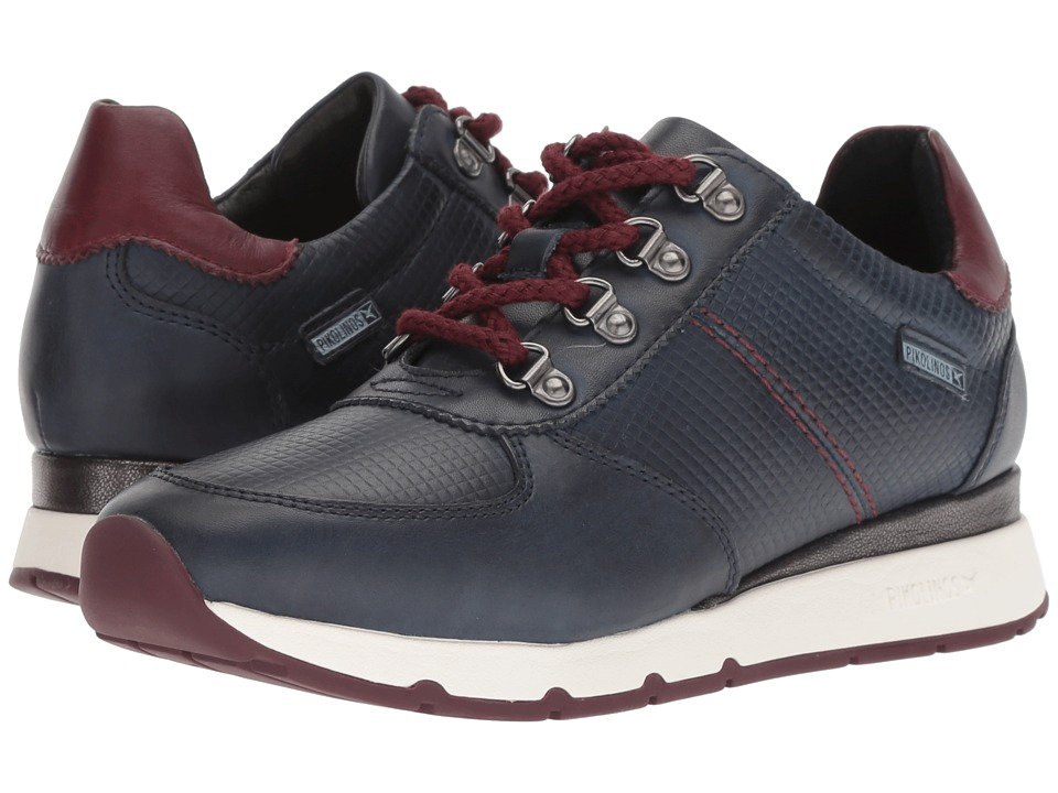 Pikolinos Mundaka W0J-6744 (Blue Garnet) Women's Shoes