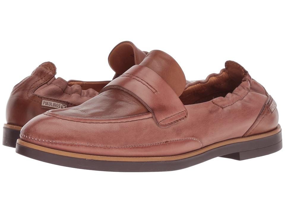 Pikolinos Santorini W3V-3720C1 (Marsala Cuero) Women's Shoes