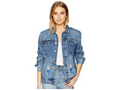 Blank NYC Blank NYC Embroidered Denim Jacket in Pub Crawl