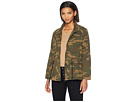 Blank NYC Camouflage Jacket in Brigade