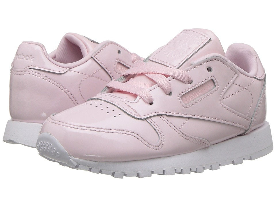 Reebok Kids - Classic Leather (Infant/Toddler) (Pink/White) Girls Shoes