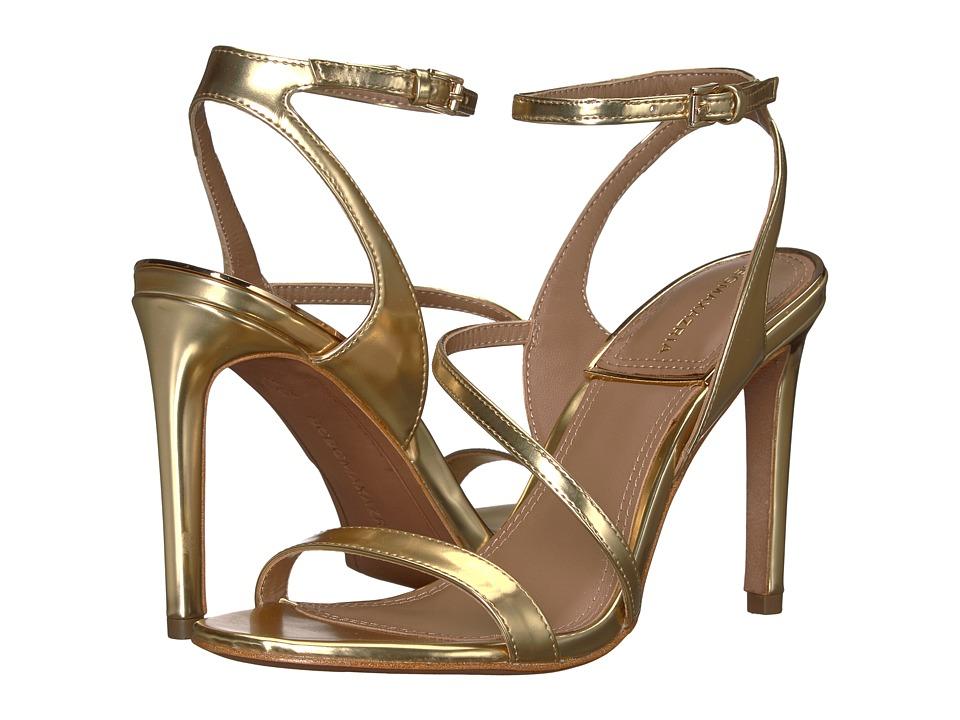 BCBGeneration BCBGMaxazria - Amilia (Golden Mirror Metallic) High Heels
