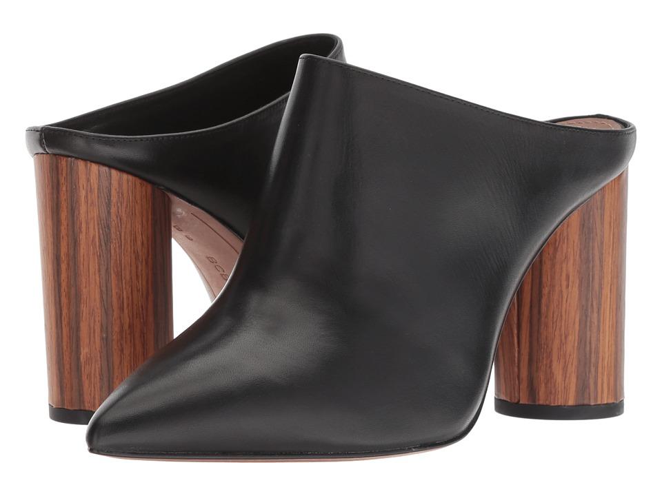 BCBGeneration BCBGMaxazria - Antonia (Black Soft Dress Calf) Women's Clog/Mule Shoes