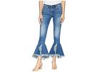 Blank NYC Denim Ruffle Bottom Jeans in X-Factor