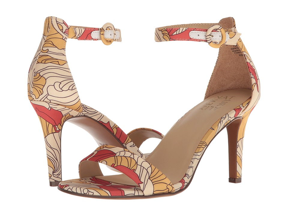 Naturalizer Kinsley (Papaya Multi Vintage Print Fabric) High Heels